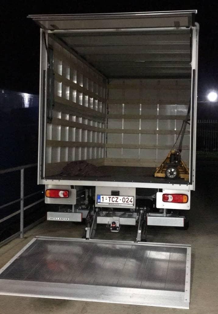 Ladderlift huren in Antwerpen